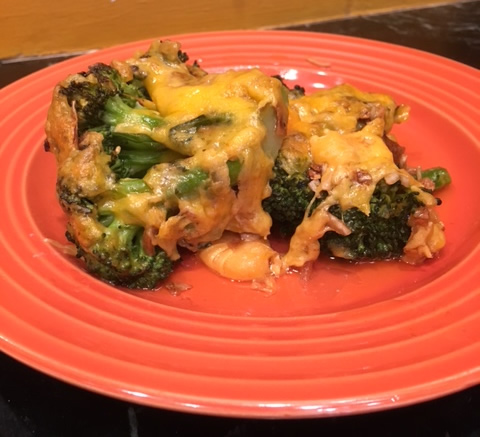 Theo's Mom's Cheesy Broccoli Casserole