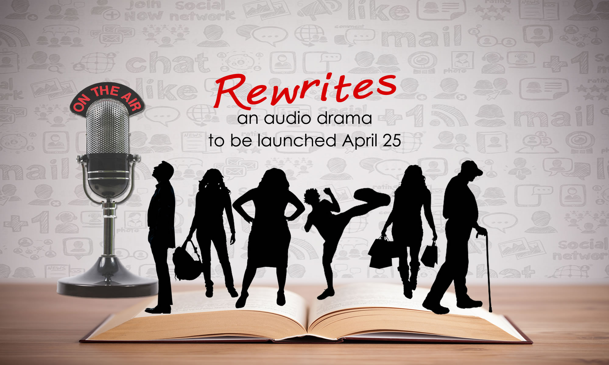 Rewrites Podcast to be launched April 25